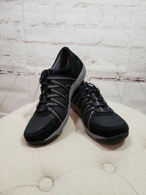 Women's Dansko Helen Sneaker 39 M Black