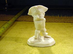 vintage victorian damaged pirat figurine 1890 excavated Limbach Art. 6742