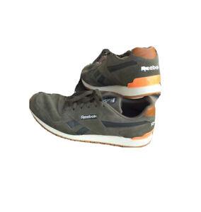 Men Green Suede Sneaker SIZE 11.5