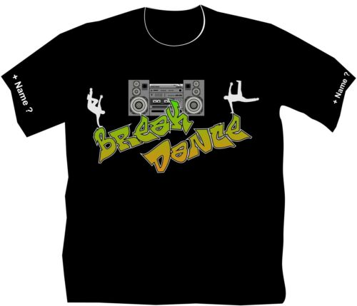 T-Shirt Break Dance Hip Hop Style Old School Sport Vereine Meisterschaft Cool 6