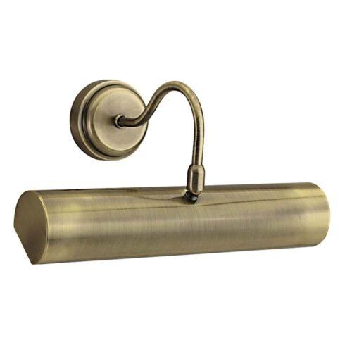 Bilderleuchte Antik Messing Antique Brass plattiert Baustahl dimmbar