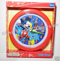 Mickey Mouse Wall Clock Quartz Accuracy 9.5 Room Decor Christmas Gift Goofy