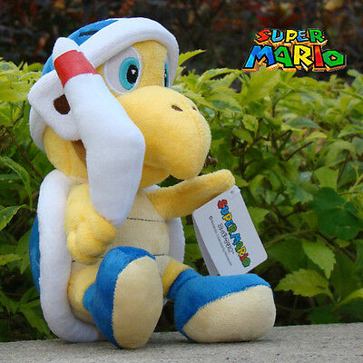 "2Pcs Super Mario Plush Toy Hammer /& Boomerang Bros Koopa 8/"" Stuffed Animal Doll"