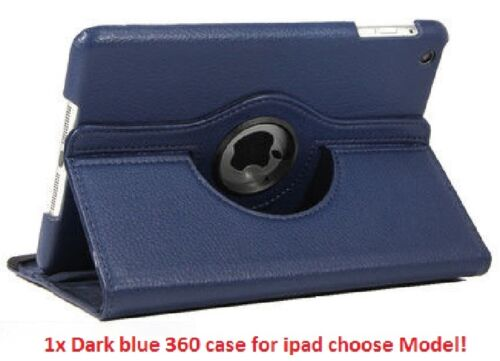 """360 Rotating Smart Leather Case Cover with stand for Ipad Mini 4 4th Gen 7.9/"""""""