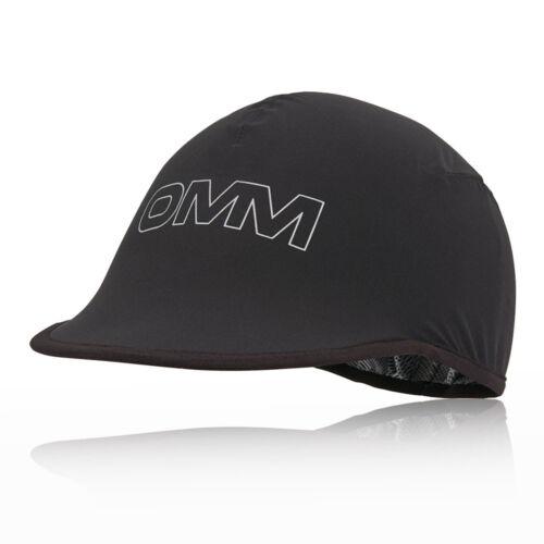 Omm Unisexe Kamleika Casquette Noir Sport Running Imperméable Légère coiffure
