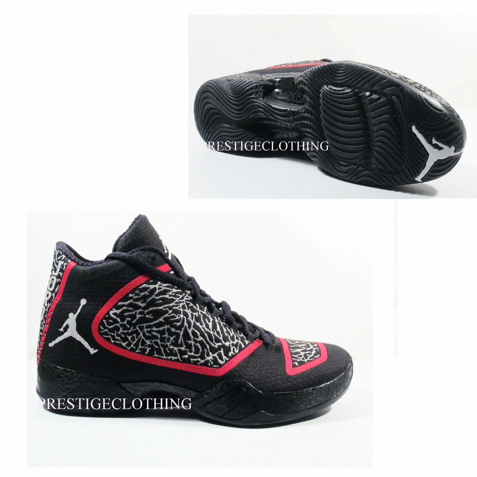 Original Nike Gym Air Jordan XX9 Negro Blanco Gym Nike Rojo Trainers 695515023 5bbaa0