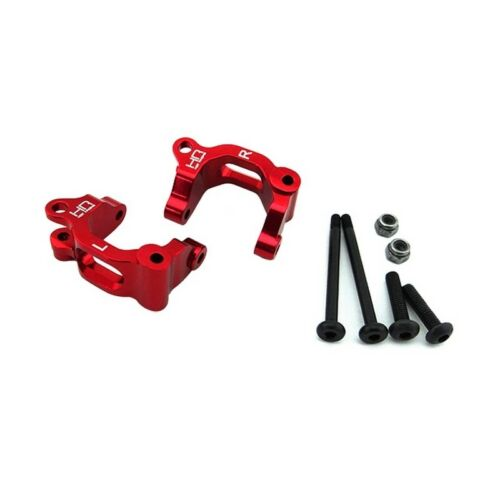 Hot Racing ARM1902 Arrma Fury Vorteks Red Aluminum Big Bearing Front Uprights