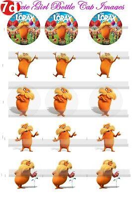 "30 Precut 1/"" The Grinch cap Image Set 1"