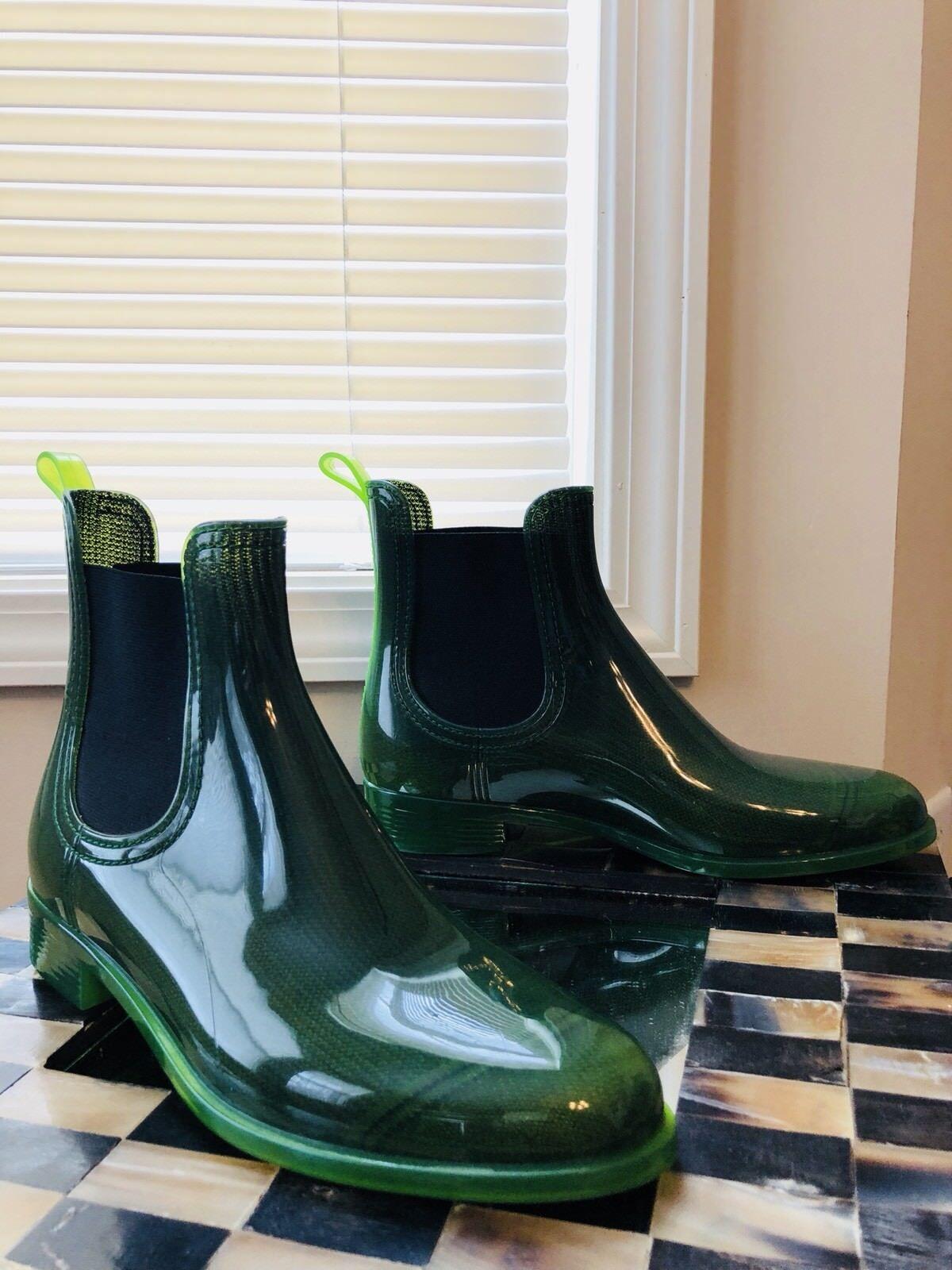 risparmia il 60% di sconto UNUTZER donna donna donna verde JELLY RAIN stivali EU 41 SZ 9 RARE US SELLER  a buon mercato