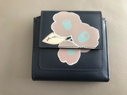 Flap Bnwot Medium Purse Radley Beautiful Ink Row Blue Leather Over Eden FwaSU4aq