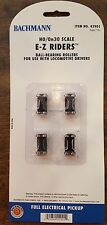 Bachmann HO / On30 E-Z Riders with Ball Bearing Rollers 42901