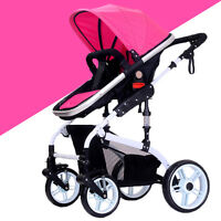 Baby Stroller Newborn Carriage Infant Travel Car Foldable Pram Pushchair