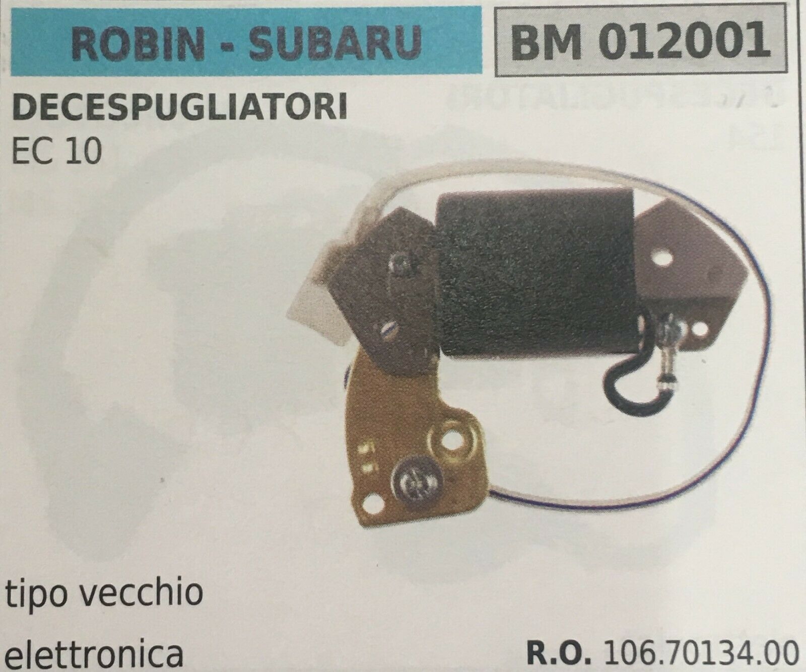 BOBINA ELETTRONICA ROBIN - SUBARU BM012001