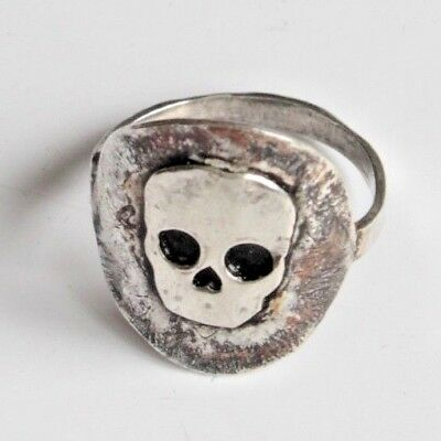 Sugar Skull Skeleton Ring Uk Sterling