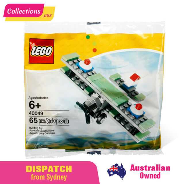 GENUINE LEGO Mini - Sopwith Camel WW1 Bi-Plane in Polybag - 40049 -FAST Shipping