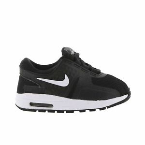 online retailer 1c9c7 44f5d Image is loading nike-Air-Max-Zero-Essential-TODDLER-BLACK-WHITE-