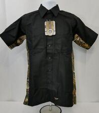 eb509b0ac13c8 item 2 Wrangler WORKWEAR REALTREE black/camo canvas short sleeve work shirt.  mens SMALL -Wrangler WORKWEAR REALTREE black/camo canvas short sleeve work  ...