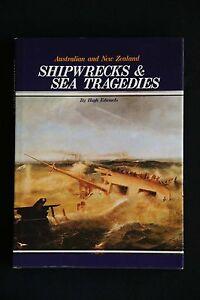 Hugh-Edwards-Australia-and-New-Zealand-Shipwrecks-and-Sea-Tragedies-HC-DJ