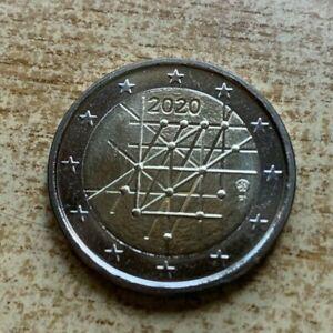 """2 Euros Conmemorativos Finlandia 2020 """"Universidad Turku"""" Sin Circular"""