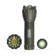 Nebo 5561 CSI Quatro Flashlight Multi-color Light White, Green, UV Laser Pointer