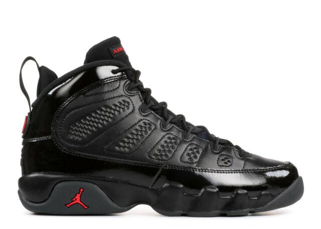 size 40 4f8d6 89ef9 2018 Air Jordan 9 Retro IX Bred Black Red 100 Real Size 9.5 Men's ...