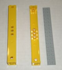 TCM Compatible Bricks Tan Support 2 x 2 x 13 with 5 Pin Holes QTY 10 Pieces