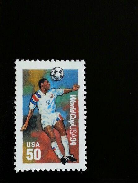 1994 50c U.S.A. World Cup Soccer Scott 2836 Mint F/VF N