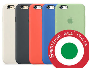 custodia originale iphone 6 silicone