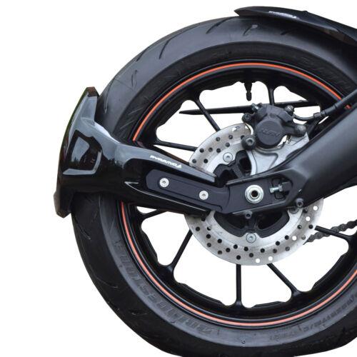Rear Spray Guard : Gloss Black Rear Hugger Alternative 15+ Yamaha Tracer 900