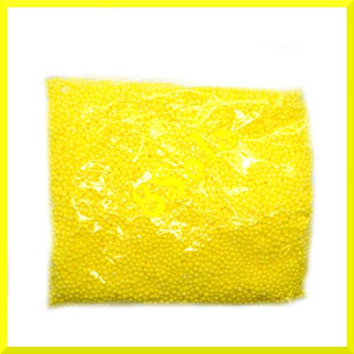 0.5l Styrofoam Balls Polystyrene Foam Coloured Spheres 2-3 mm Filler Beads Decor
