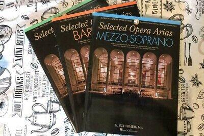 Opera Arias for Tenor Tenor and Piano Vocal Solo Book NEW 050486992