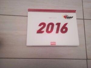 Mondiali Atletica Calendario.Dettagli Su Calendario Iaaf 2016 Originale Da Tavolo Perfetto Atletica Mondiale Collezione