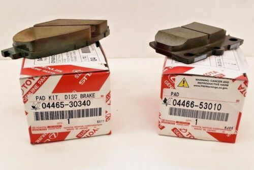 LEXUS OEM FACTORY FRONT AND REAR BRAKE PAD SET 2009-2013 IS250