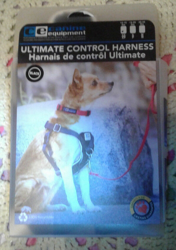 ULTIMATE CONTROL HARNESS BY CE CANINE EQUIPMENT BRAND NEW XS