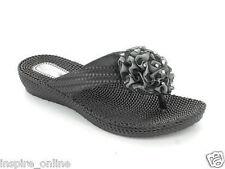 e3e0a8c7f2e2 item 7 Ladies Women Flip Flops Diamante Flower Toe Post Summer Jelly Beach  Sandal Shoes -Ladies Women Flip Flops Diamante Flower Toe Post Summer Jelly  Beach ...
