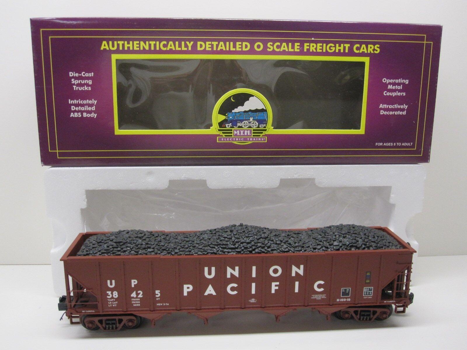 descuento online MTH 20-90145F Union Pacific 4 4 4 Bay tolva con Cochega de Cochebón extraíble Caja Original  calidad fantástica