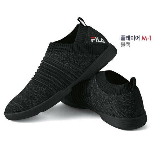 FILA TAEKWONDO SHOES//PLAYER M-1//TKD SHOES//Martial arts shoes//BLACK