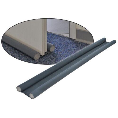 2x Zugluft-Stopper Luftzugstopper Türdichtung f 7,26€//m Türen bis 60 mm Dicke