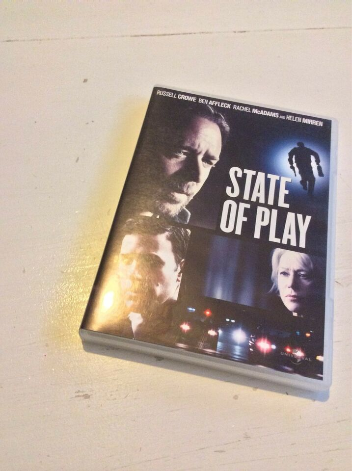 State of play, DVD, thriller