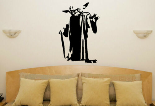 Star Wars Yoda Nursery Children/'s Bedroom Decal Wall Art Sticker Picture Poster