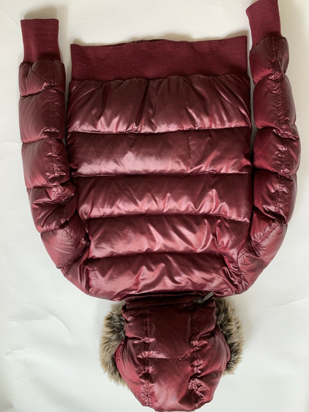 Barbour Heritage Mercury Down Puffer Bomber Red - image 5