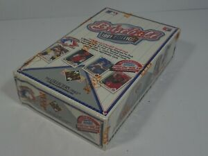 1991-Edition-Upper-Deck-MLB-Baseball-Sealed-Hobby-Box-of-Trading-Cards