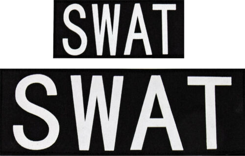 SWAT Hook Back Patch Attachment for Vests or Jackets