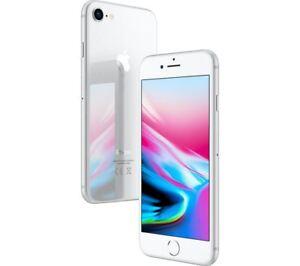 Apple-iPhone-8-256GB-Sim-Free-Unlocked-iOS-Smartphone-Silver-Excellent
