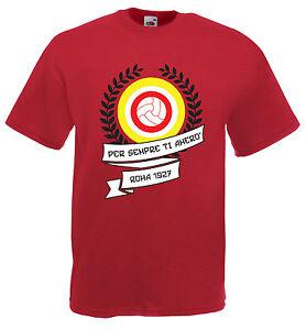 T-shirt Maglietta J1097 Ultras Roma Per Sempre Ti Amerò Curva Sud Terrace
