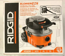 RIDGID 4 Gal. 6.0 Peak HP Wet Dry Vac