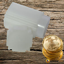 5 CoinSafe 1 oz GOLD AMERICAN EAGLE Square Coin Tube 33mm