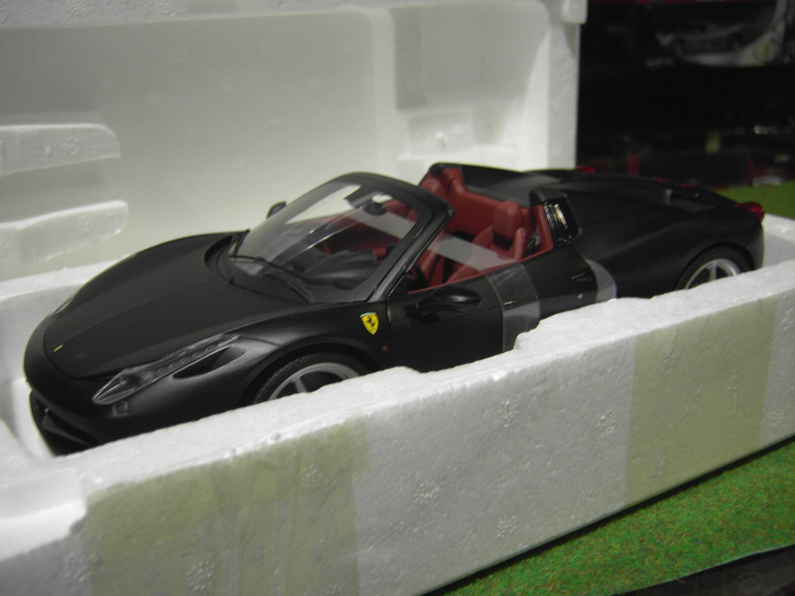 echa un vistazo a los más baratos FERRARI 458 458 458 ITALIA SPIDER  nr matt 1 18 HOT WHEELS ELITE X5485 voiture miniature  calidad garantizada