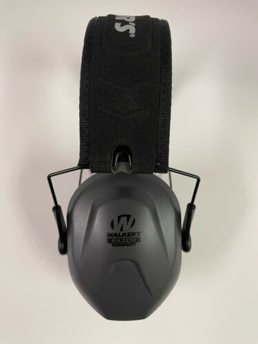 Details about  /Walker/'s GWP-CRPAS Razor Slim Passive Ear Muff NRR 27