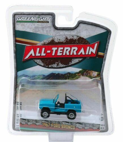 1967 ford bronco Blue *** GreenLight All-Terrain 1:64 OVP